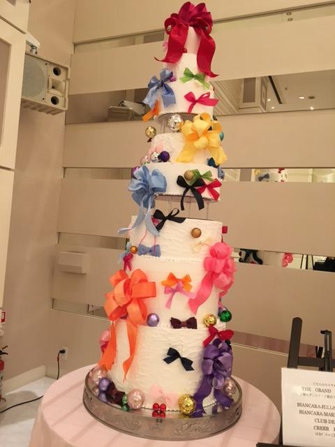 婚礼展ケーキ