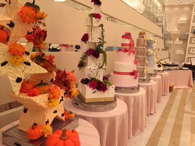 婚礼展ケーキ4